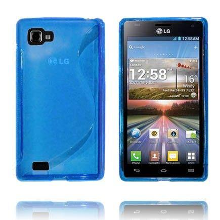 Transparent S-Line (Blå) LG Optimus 4X HD Cover