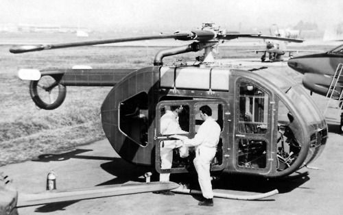 The Fiat Model 7002 was a 1960s Italian general-purpose helicopter with a tip jet driven rotor built by Fiat Aviazione. Only one aircraft was built.
