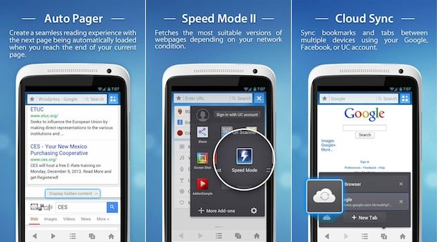 UC Browser 9.4 for Android released – improved browsing speed