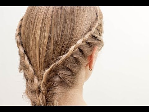French braids in the romantic style. French Braids In Romantic Style - YouTube