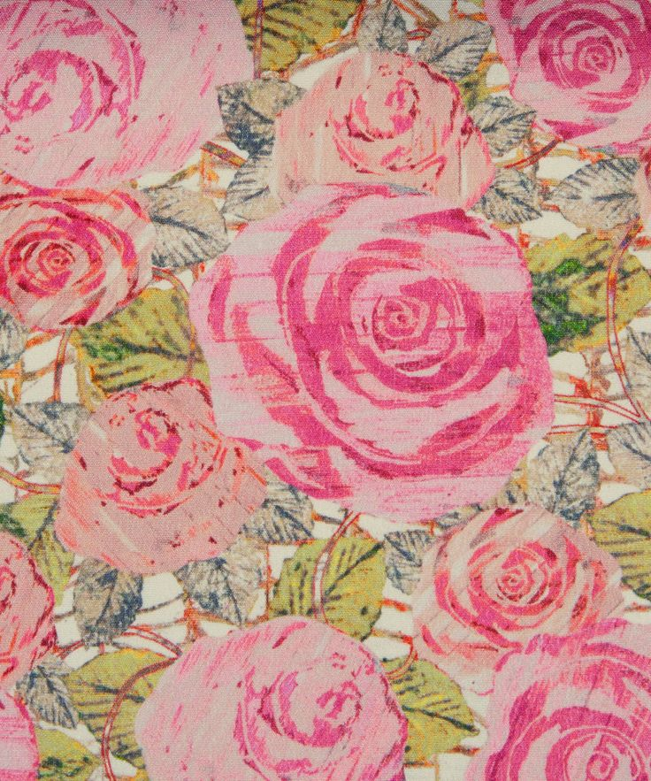 Liberty Art Fabrics Kilburn Rose. I love this print, and have some in SILK for making fabulous pjs. Amazingly I haven't yet got round to it...