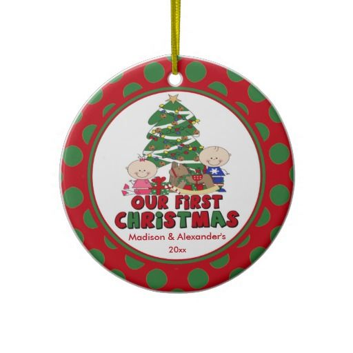 Babys First Christmas Gift Ideas Pinterest : Best images about twin first christmas ornament on