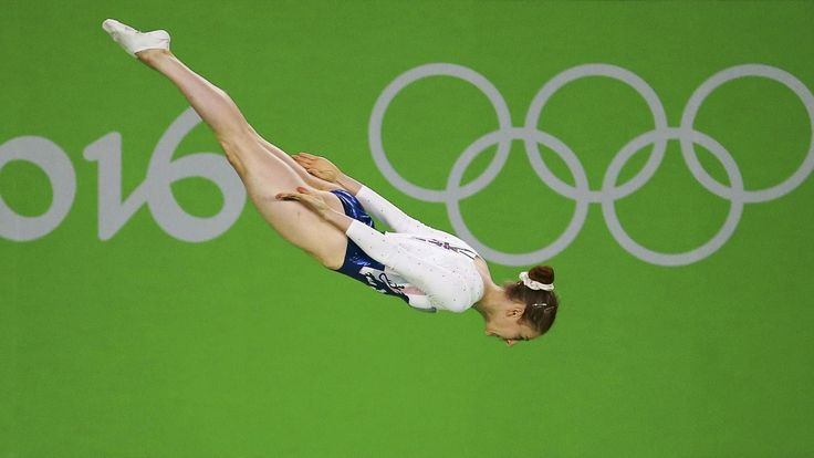 Bryony Page claims trampoline silver