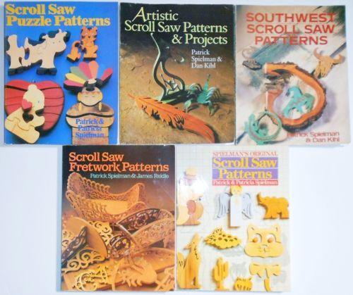 $28 Scroll-Saw-Pattern-Books-Set-of-5