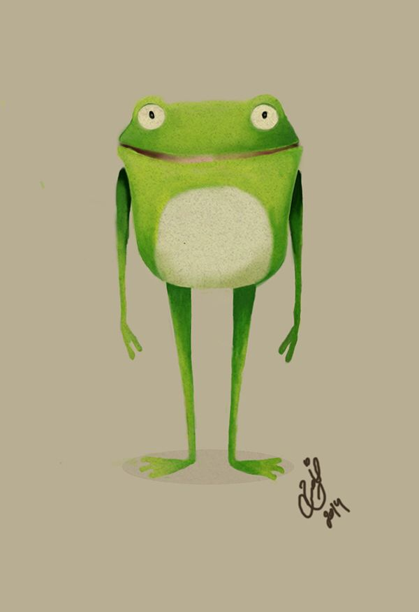 friendly froggie