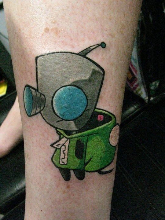 Invader Zim Tattoo Ideas
