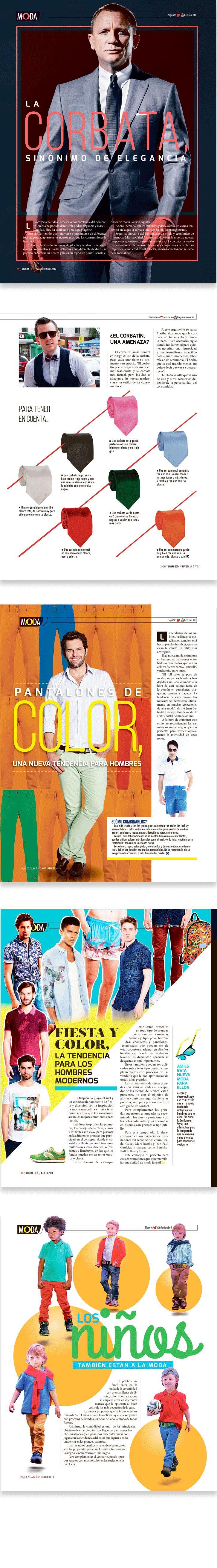 Diseño editorial // Revista: La Ó // Sección: Moda. Instragram @carmarcusdesign