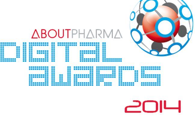 ABOUTPHARMA DIGITAL AWARDS 2014 - Il premio per i migliori progetti di comunicazione digitale lanciati dalle aziende farmaceutiche, dai produttori di dispositivi medici, dalle istituzioni del Sistema Sanitario, dipartimenti universitari, centri di ricerca, Università e associazioni di pazienti, protagonisti dell'Healthcare