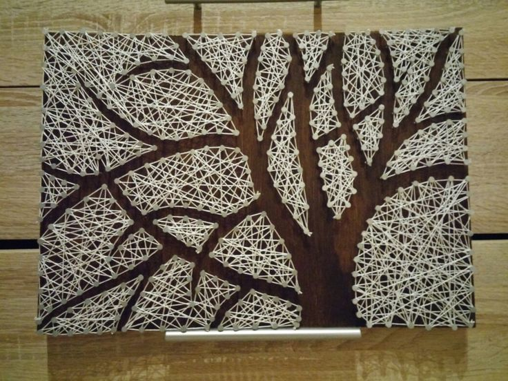 String art baum