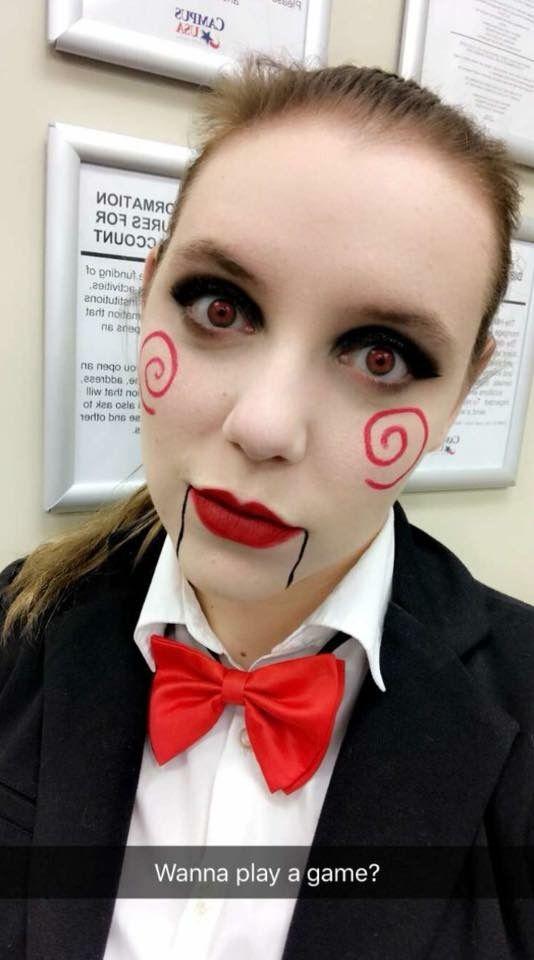 Wanna play a game? Jigsaw costume for Halloween!