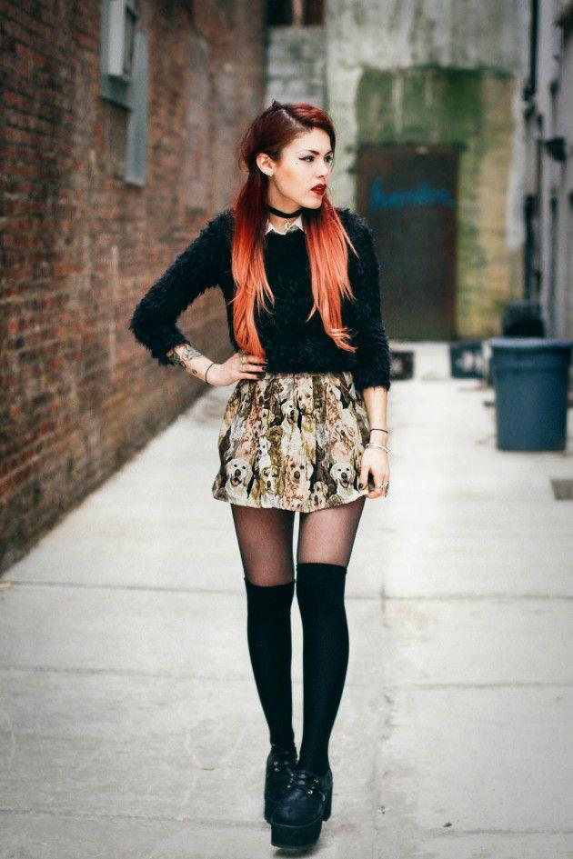 Doggie skirt alert-- so adorable! @ LE HAPPY
