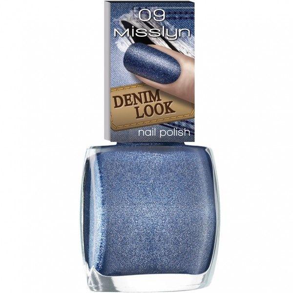 Nägel Denim Look Nail Polish von Misslyn - Online Parfümerie Becker