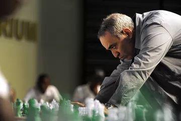 A conversation with chess champion Garry Kasparov.