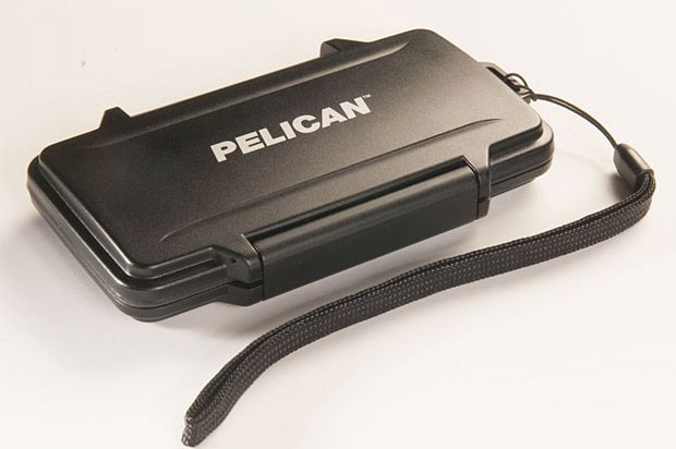 Pelican ProGear Sport Wallet  Pelican makes the original bombproof, waterproof camera & equipment cases used by photogs, filmers, & media pros. Now they're making a slim sports wallet with the same crushproof characteristics. If you happen to go overboard on your next outing, your cash and cards will be safe.  $29.95