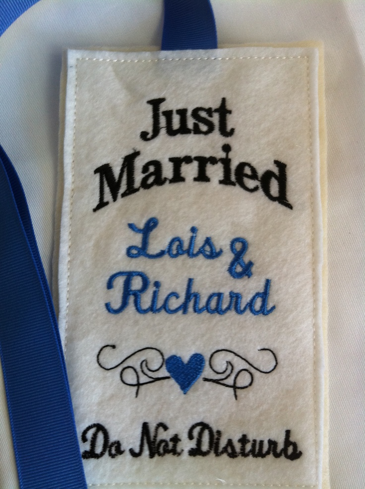 30 best images about just married ideas on pinterest for Just married dekoration