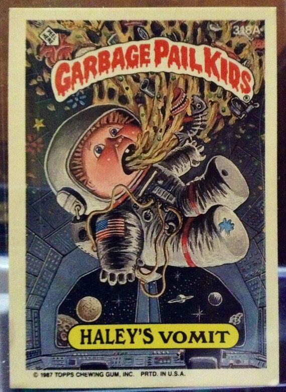 1987 Topps Garbage Pail Kids Trading Card 318a by LEATHERGLACIER, $2.00