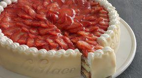 Opskrift på jordbærtærte fra La Glace