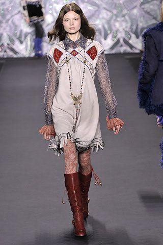 Индейские мотивы в одежде