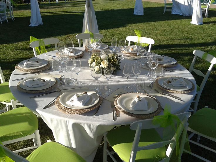 Wedding reception - Guests table