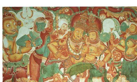 Hindu-Fresco-with-Shiva-a-007.jpg (460×276)