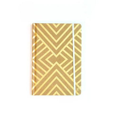 A5 Gold Geometric Notebook – THAT LITTLE SHOP