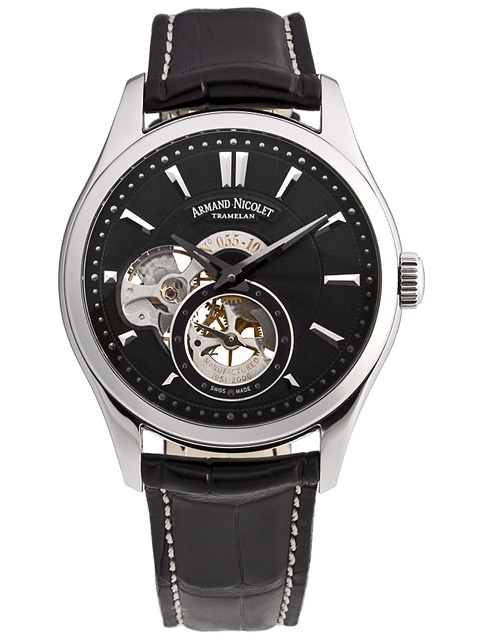 Armand Nicolet L06 Small Second 9130A-NR-P713NR2: Second 9130Anrp713Nr2