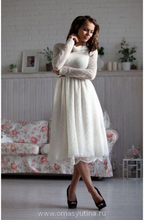 """Платье """" Снежок"""" Шикарное ажурное платьице молочного цвета из элитного итальянского мохера с юбочкой- подкладом из хлопка с шитьем."""