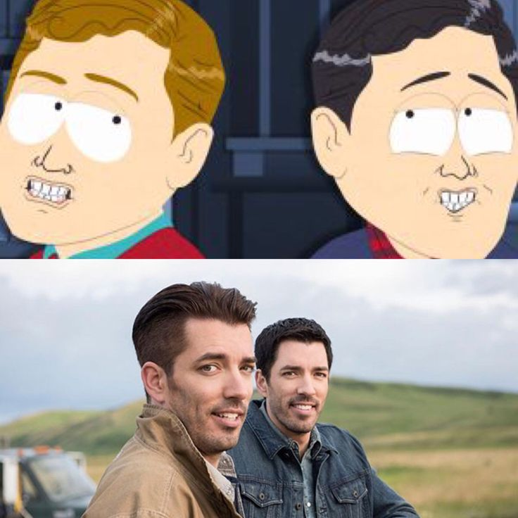My girlfriend was watching a show on HGTV yesterday when I noticed the two guys look like someone I've seen before.