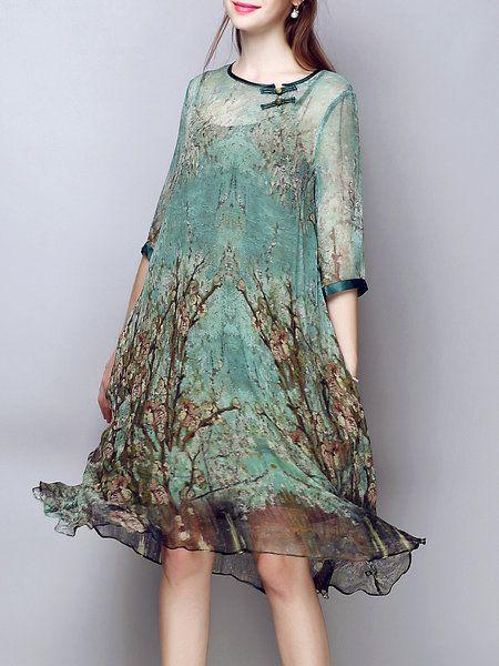 Multicolor 3/4 Sleeve Shift Silk Midi Dress https://www.stylewe.com/product/multicolor-3-4-sleeve-shift-silk-midi-dress-37702.html?utm_source=Criteo&utm_medium=Criteo&utm_term=Category&utm_campaign=MI4S4DFE