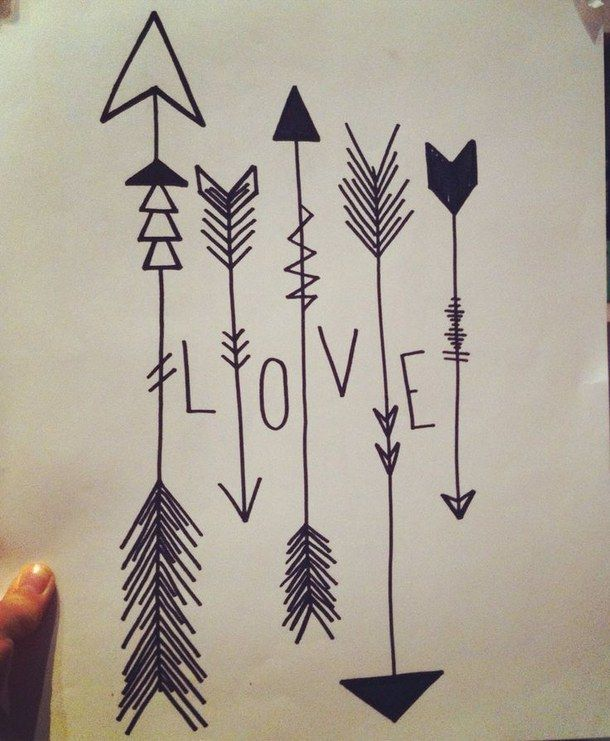 arrow, arrows, black and white, boho, doodle, draw, drawer, drawing, fashion, grey, grunge, hippie, hipster, indie, life, love, mandala, paint, painter, painting, style, summer, summertime, tumblr, vintage, vsco, First Set on Favim.com