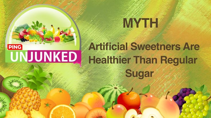 Food Myth || Artificial Sweetners Are Healthier Than Regular Sugar