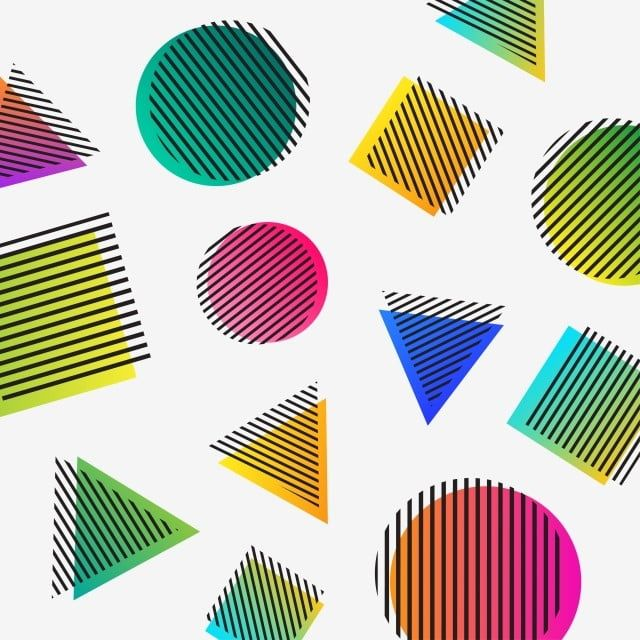 Colorful Geometric Form Lines On Triangle Square And Shapes Pattern Vector Pattern Clipart Geometric Design Png And Vector With Transparent Background For F In 2021 Triangle Square Shape Patterns Geometric Lines
