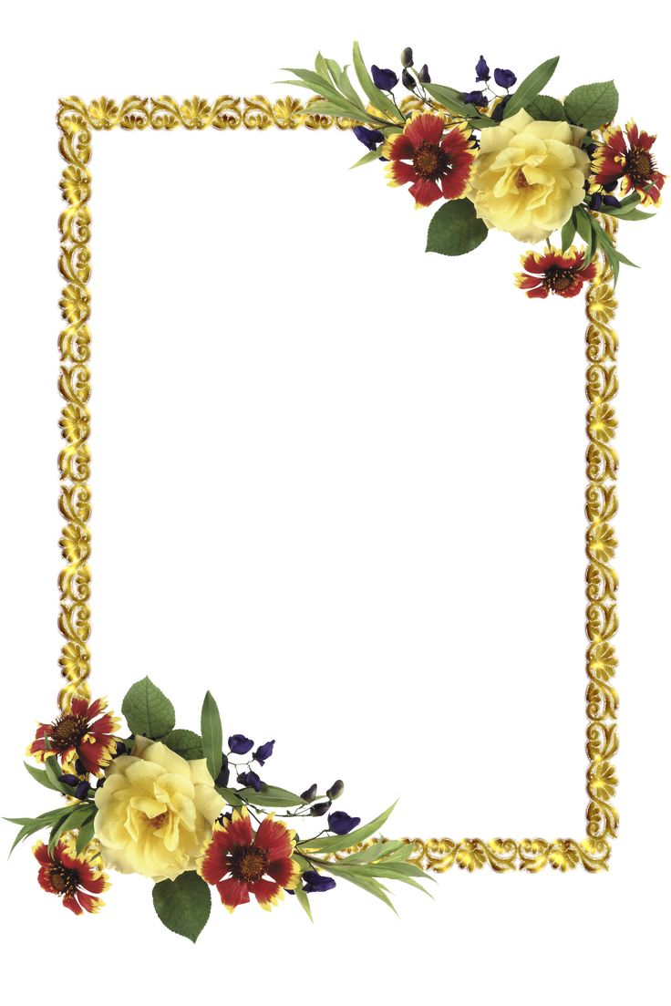 Photoshop flower frames free vector download (16,855 Free ...