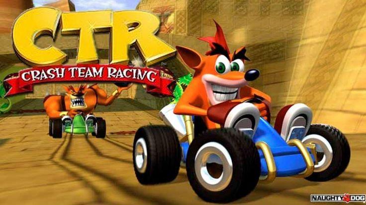 تحميل لعبة سباق امرات كراش Crash Team Racing مجانا
