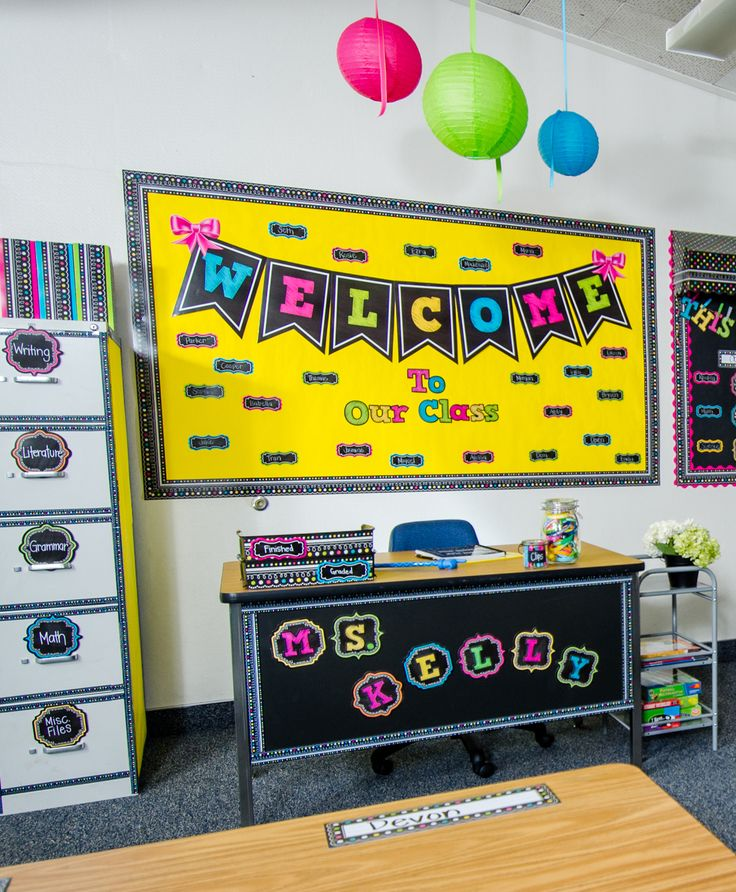 Yellow Classroom Decor ~ Best images about chalkboard brights classroom