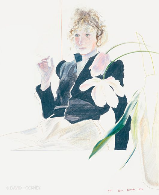 Celia Birtwell, David Hockney