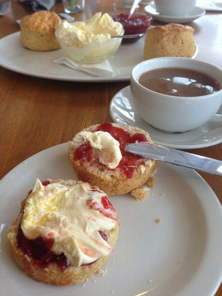 Cream, Jam, Scone