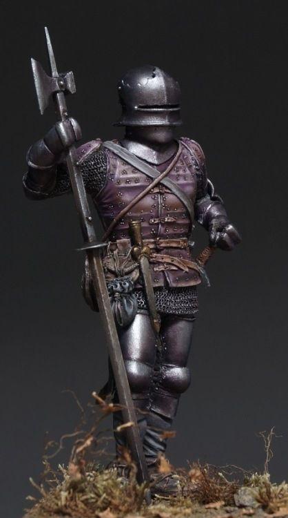 Man-at-arms, 15ct