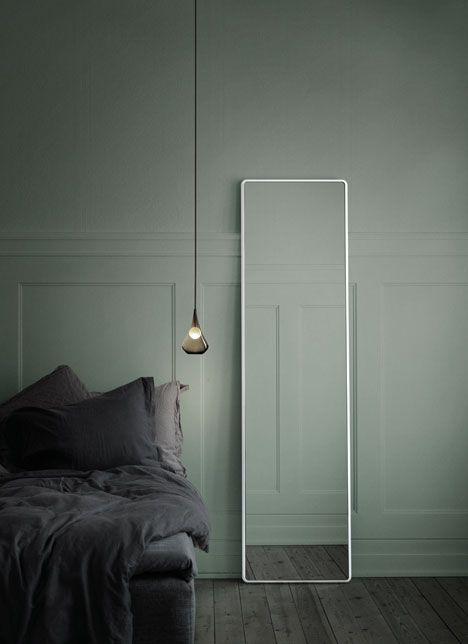Chambre tamisée  #bedroom Vipp mirror | Rumid