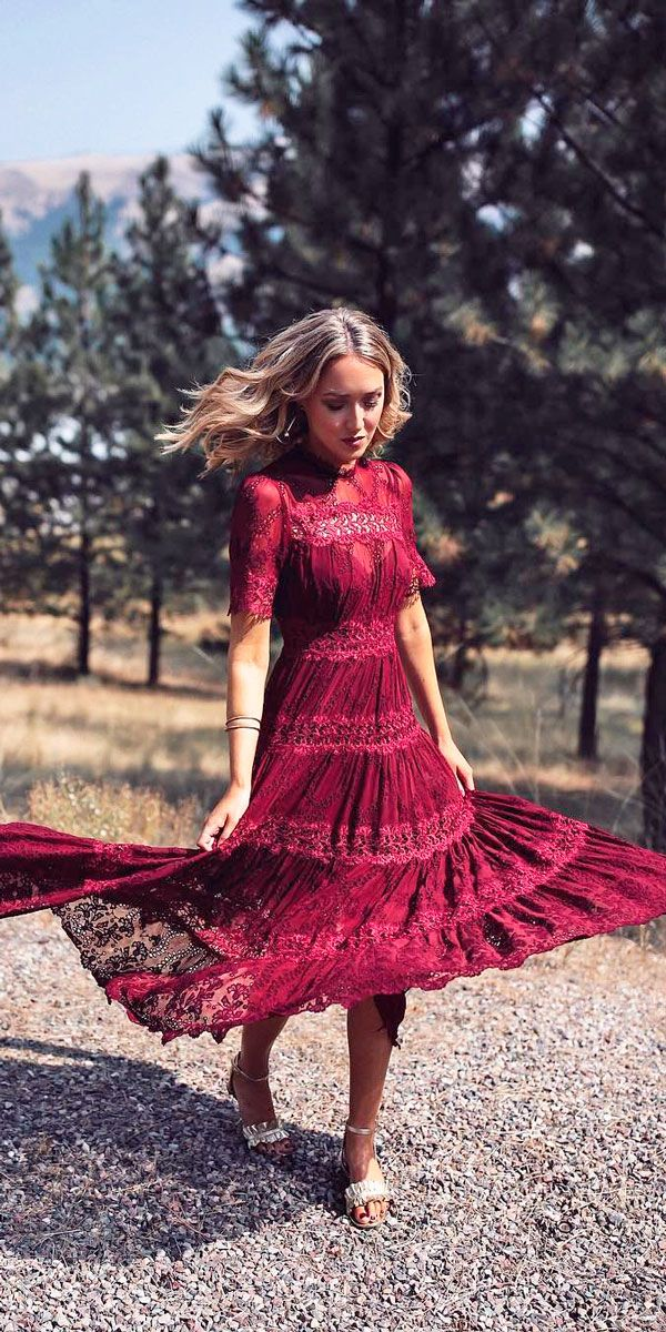 27 Wedding Guest Dresses For Every Seasons & Style ❤ See more: http://www.weddingforward.com/wedding-guest-dresses/ #wedding