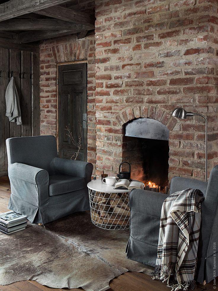 Stillsamt, varmt och ombonat - så vill vi inreda vårt mysiga vinterbo. En plats för återhämtning och arbetsro.