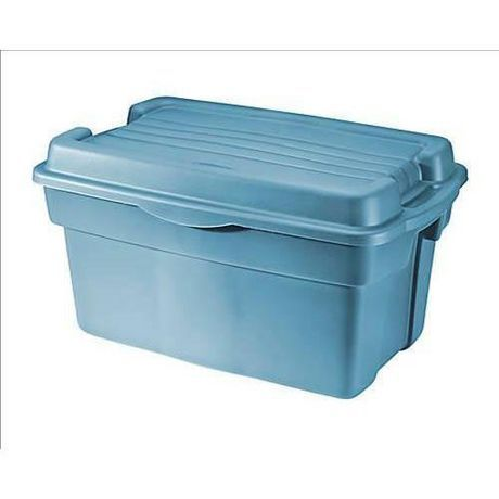 """Rubbermaid 106L Hi-Top Storage Tote $13.97 (sale $10.88),  #2461. The size for the High Top Tote 2461 is: 32""""L x 20.1""""H x 16.7""""W"""