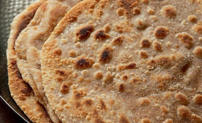This wholemeal griddle bread is a great accompaniment to any Indian dish. Learn how to make them here http://bit.ly/RbH8xF