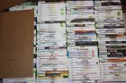 Lot of 156 Nintendo Wii XBOX 360 games  video game  CF360W1 videogame xbox360