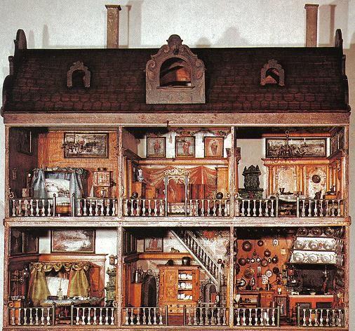 Antique dollshouse 17th century, Germanisches Nationalmuseum, Nürnberg