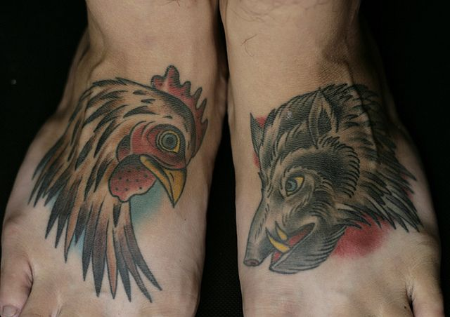 for Pig and rooster tattoo meaning