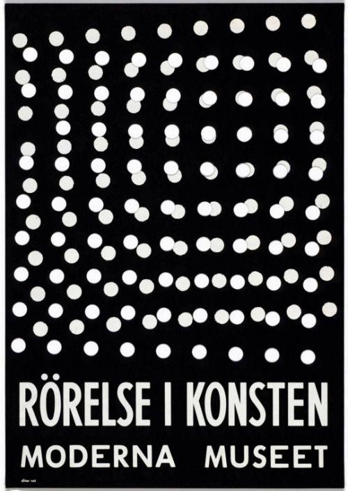 Dieter Roth, Rörelse I Konsten, 1961; Bewogen Beweging,...