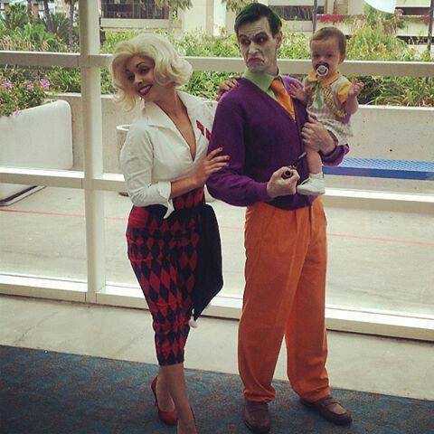 harley quinn and joker cosplay - The Joker And Harley Quinn Halloween Costumes