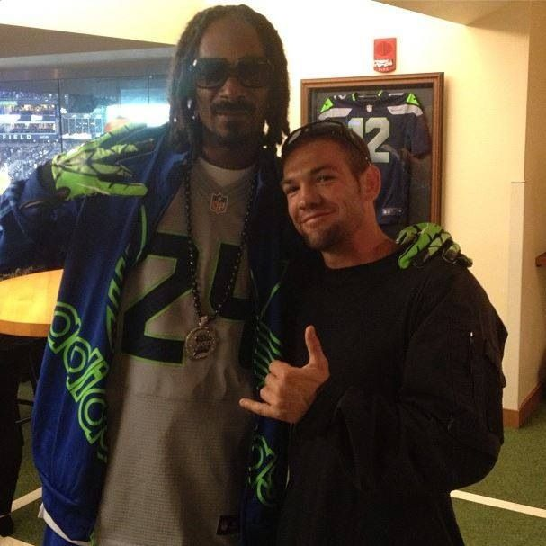 ... chapman leland s fb dog the bounty hunter awesome people seattle game