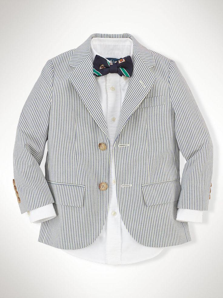 Veste Polo I en seersucker - Blazers Garçons de 1,5-2ans - Ralph Lauren France